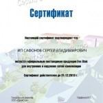 promstok sertificate safonov